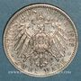 Münzen Wurtemberg. Guillaume II (1891-1918). 2 mark 1906F