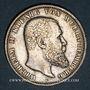 Münzen Wurtemberg. Guillaume II (1891-1918). 5 mark 1900F