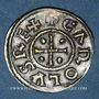 Münzen Charles le Chauve (840-877). Denier. Le Palais
