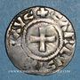 Münzen Charles le Chauve (840-877). Denier. Nevers