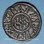Münzen Charles le Chauve (843-877). Denier. Rennes