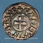 Münzen Charles le Gros (885-887). Denier. Nevers