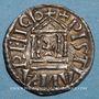 Münzen Louis le Pieux (814-840). Denier au temple. Pavie(?) à partir de 822. R ! R !