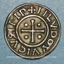 Münzen Louis le Pieux (814-840). Denier au temple