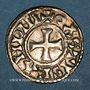 Münzen Raoul (923-936). Denier. Château-Landon. R ! R ! R !