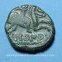 Münzen Ambiani (région d'Amiens). Imono (vers 60 à 30 / 25 av. J-C). Bronze