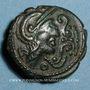 Münzen Ambiani (région d'Amiens). (vers 60-25 av. J-C). Bronze au coq, dit au type de Lewarde
