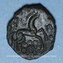 Münzen Ambiani (région d'Amiens) (vers 60 - 30/25 av. J-C). Bronze à la grande rosace