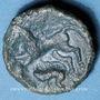 Münzen Aulerques Eburovices (région d'Evreux) (2e moitié du 1er siècle av. J-C). Bronze