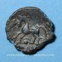 Münzen Aulerques Eburovices. Région d'Evreux. Duniccos. Bronze, classe II, vers 50-40 av. J-C