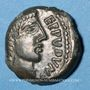 Münzen Aulerques Eburovices (région d'Evreux), Eppuduno (2e moitié du 1er siècle av. J-C). Bronze