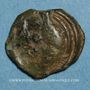 Münzen Aulerques Eburovices. Région d'Evreux. Potin au sanglier, vers 60-30/25 av. J-C