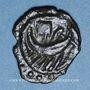 Münzen Bellovaques (?) (région de Beauvais) (fin du 1er siècle av. J-C). Bronze à la galère. R ! R ! R !