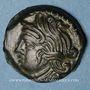 Münzen Bituriges Cubi (région de Bourges). Vandenos (vers 60-30/25 av. J-C). Bronze