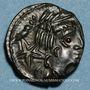 Münzen Carnutes (région de Chartres) (2e moitié du 1er siècle av. J-C). Bronze dit à l'aigle et au serpent
