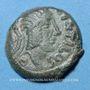 Münzen Carnutes (région de Chartres) - Pixtilos (vers 40-30 av. J-C). Bronze au cavalier, classe VII