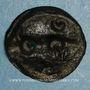 Münzen Carnutes. Région de Chartres. Potin aux croissants, 1er s. av J-C.