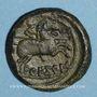 Münzen Celtibérie. Arekorata. As, fin 2e siècle av. J-C