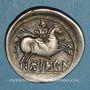 Münzen Celtibérie. Bolskan. Denier, 1er siècle av. J-C