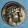 Münzen Celtibérie. Bolskan. Denier, 2e siècle av. J-C