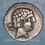 Münzen Celtibérie. Bolskan (Huesca) Denier, 1er siècle av. J-C