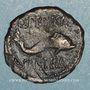 Münzen Celtibérie. Carteia. Semis, 2e siècle av. J-C