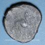 Münzen Celtibérie. Castulo (Andalousie) (fin du 3e siècle av. J-C). As