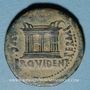 Münzen Celtibérie. Emerita Augusta. Auguste (27 av. - 14 ap. J-C). Dupondius frappé sous Tibère