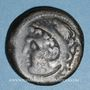 Münzen Celtibérie. Gadir. Unité de bronze,  2e siècle av. J-C