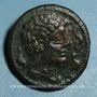 Münzen Celtibérie. Lagine. As, 1ère moitié 2 siècle av. J-C