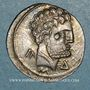 Münzen Celtibérie. Turiaso. Denier, vers 120-80 av. J-C