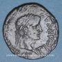 Münzen Celtibérie. Turiaso. Monnayage au nom de C Caec Sere M Val Quad llviri. Bronze