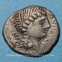 Münzen Eduens. Bourgogne - Dumnorix. Denier classe I, vers 60-54 av. J-C
