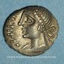 Münzen Eduens. Bourgogne - Orgetirix. Denier, vers 60-54 av. J-C