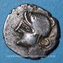 Münzen Eduens. Bourgogne - Viipotal. Denier, vers 60-54 av. J-C