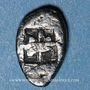 Münzen Gaule. Provence (1ère moitié du 5e siècle av. J-C). Obole