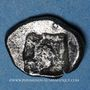 Münzen Gaule. Provence (vers 525-475 av. J-C). Obole à l'hippalectryon à droite
