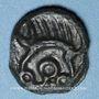 Münzen Leuques (région de Toul) (2e moitié du 1er siècle av. J-C). Potin, classe Ie