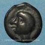 Münzen Leuques. Région de Toul. Potin classe II, 2e - 1er siècle av. J-C