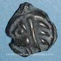 Münzen Leuques. Région de Toul. Potin de classe Id, 2e moitié du 1er siècle av. J-C