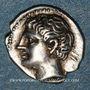 Münzen Marseille (220-190 av. J-C). Obole à la tête romanisée. Inédite !