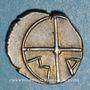 Münzen Marseille (310-250 av. J-C). Obole à l'Apollon avec favoris