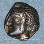 Münzen Marseille (470-450 av. J-C). Obole phocaïque à la tête d'Apollon