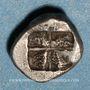 Münzen Marseille (500-470 av. J-C). Obole phocaïque à la tête de bélier