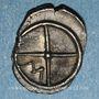 Münzen Marseille. Hémibole à l'éthnique MASSALI, 425-400 av. J-C