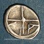 Münzen Marseille. Obole à l'Apollon avec favoris, 310-250 av. J-C