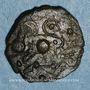 Münzen Médiomatrices. Région de Metz. Bronze aux oiseaux, vers 60-25 av. J-C