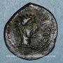 Münzen Pictones. Région de Poitiers. Atectori . Bronze, 2e moitié du 1er siècle av. J-C