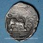 Münzen Rémi. Région de Reims. Atevla-Vlatos. Quinaire classe II, vers 60-30 av. J-C