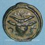 Münzen Rémi. Région de Reims. Potin au bucrâne, 1er siècle av. J-C. DT 221, cet exemplaire !